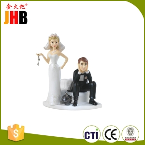Polyresin Wedding Figures