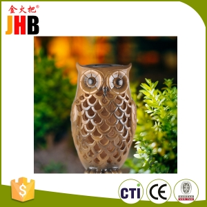 Solar Powered Owl Light Decoration