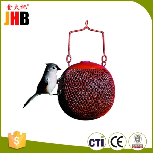 Outdoor Animal Red Bird Feeder